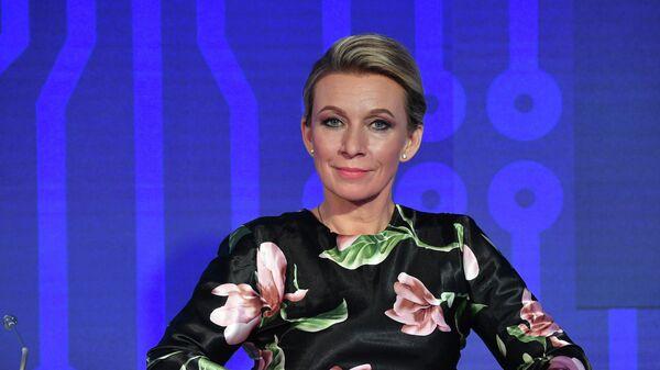 Официальный представитель Министерства иностранных дел России Мария Захарова на ПМЭФ-2021