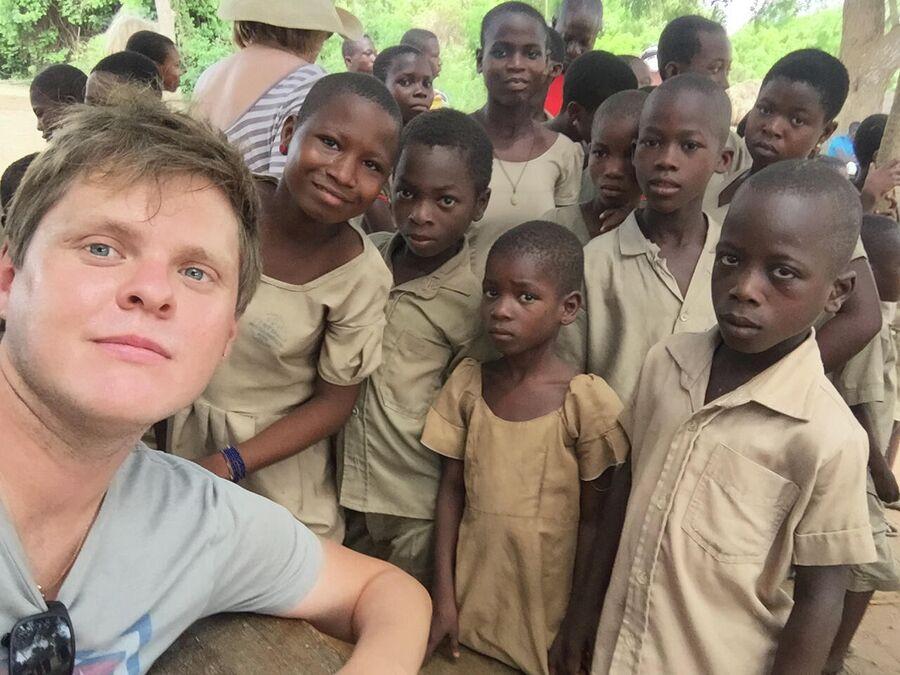 Бенин, в местной школе