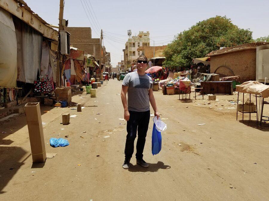 Центральный рынок в Судане