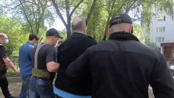 Задержание агента украинских спецслужб. Кадр из видео