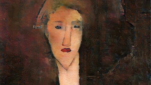 Скрытый портрет Беатрис Гастингс авторства Амадео Модильяни, воссозданный Оксией Палус с использованием технологий искусственного интеллекта