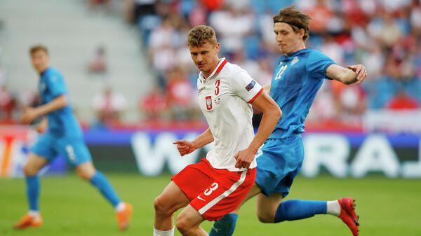 Футболист сборной Польши по футболу Павел Давидович