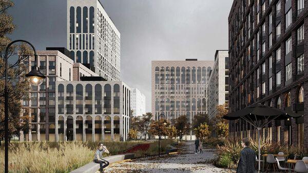 Проект Архитектурной мастерской Кашириных для программы реновации в Москве