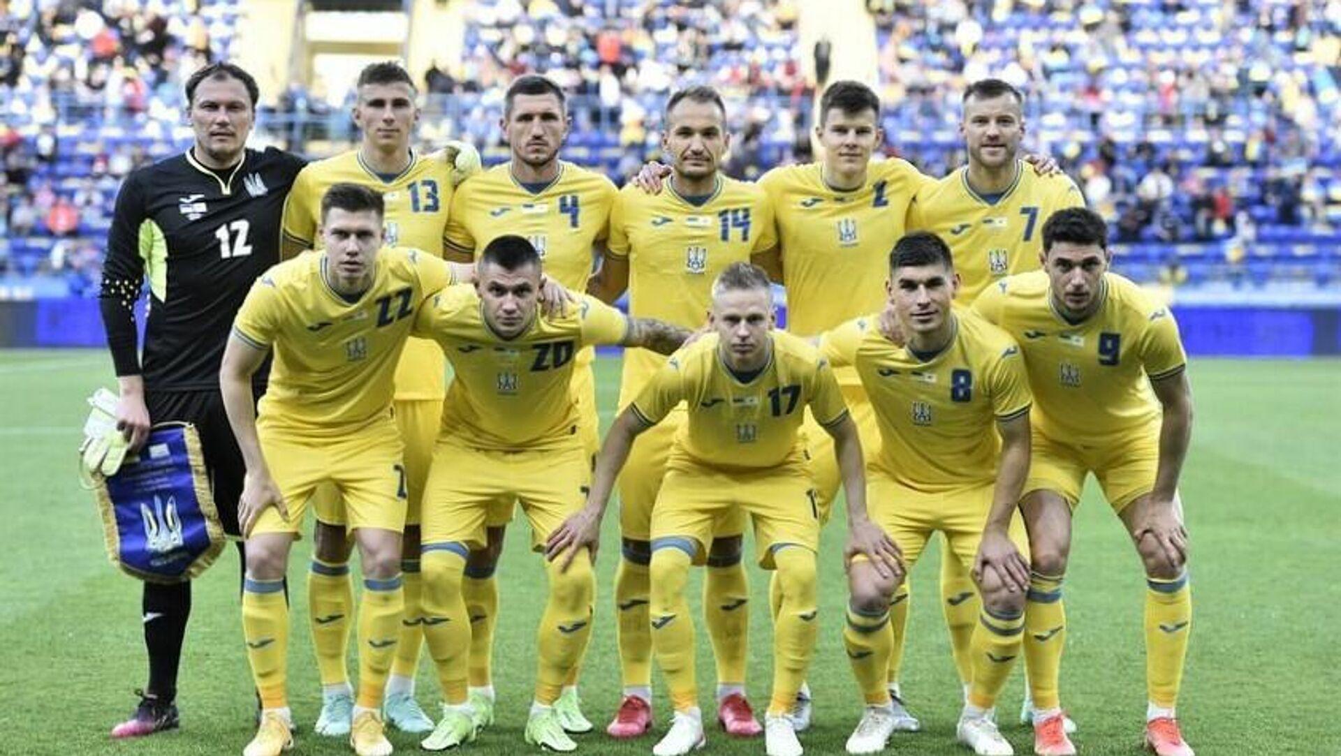 Сборная Украины по футболу перед ЕВРО-2020 - РИА Новости, 1920, 10.06.2021
