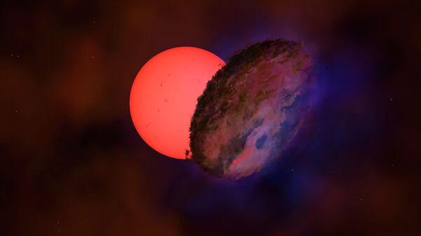 """Астрономы заметили """"мигающего гиганта"""" в центре Галактики"""