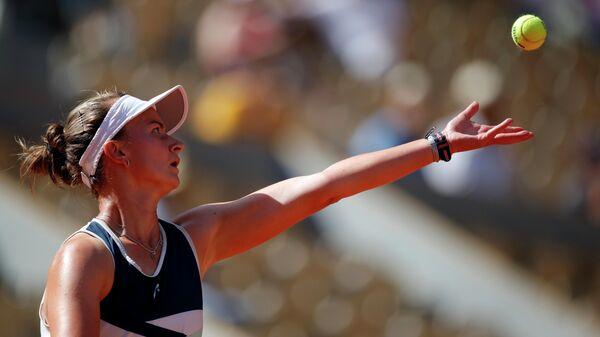 Чешская теннисистка Барбара Крейчикова