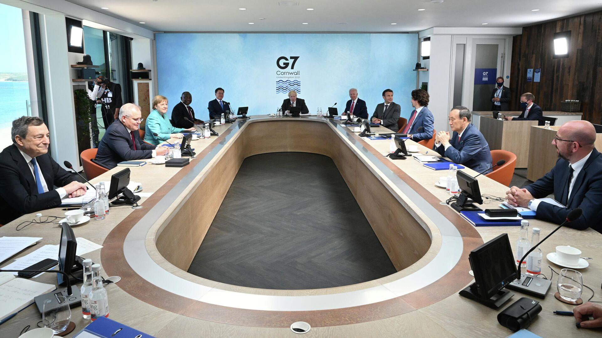 Саммит G7 в Великобритании  - РИА Новости, 1920, 13.06.2021
