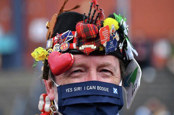 Болельщик сборной Шотландии