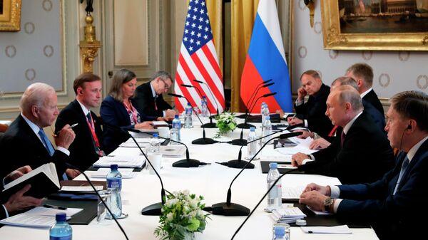 В Белом доме назвали встречу Путина и Байдена неконфронтационной