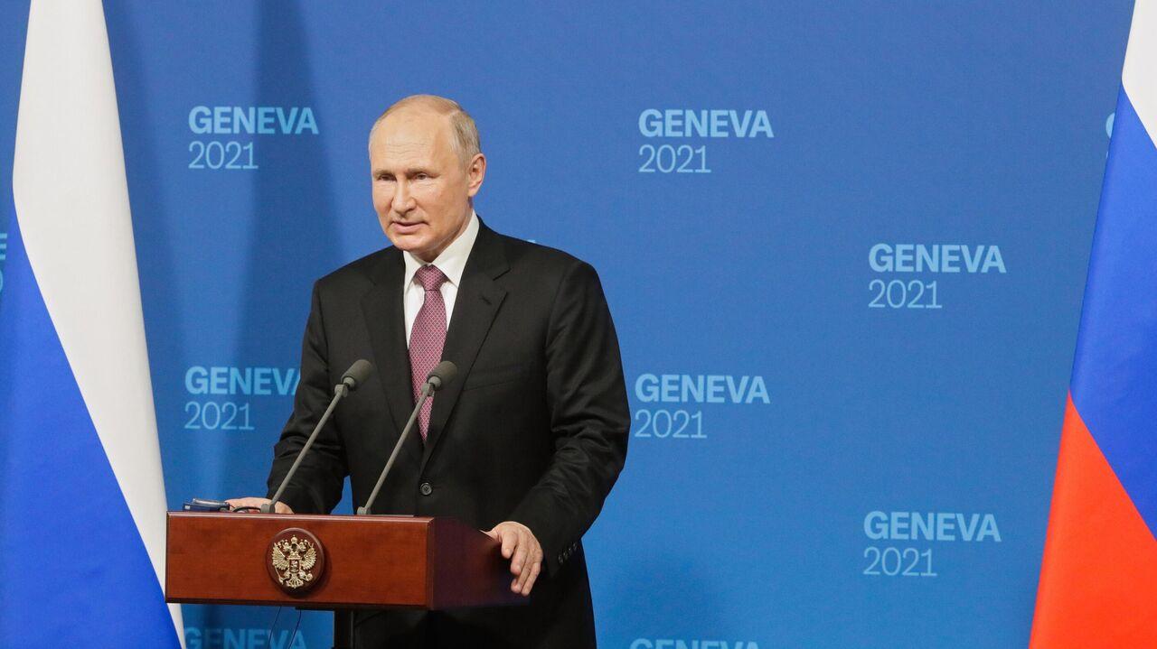 Ключевые цитаты с пресс-конференции Путина по