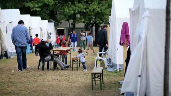 Лагерь беженцев в Германии