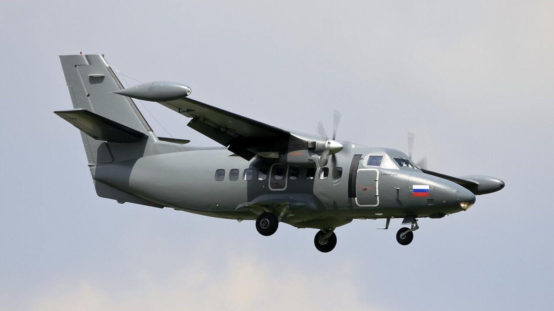 Самолет Л-410 - РИА Новости, 1920, 12.09.2021