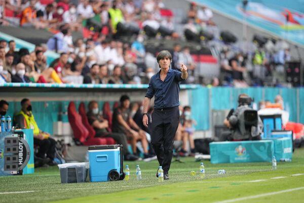 Главный тренер сборной Германии Йоахим Лев