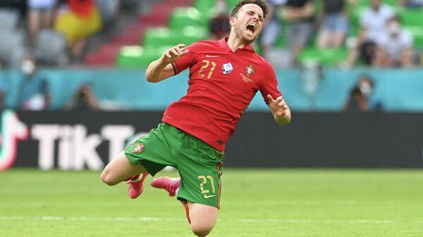 Нападающий сборной Португалии Диогу Жота