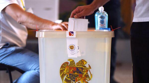 Досрочные парламентские выборы в Армении