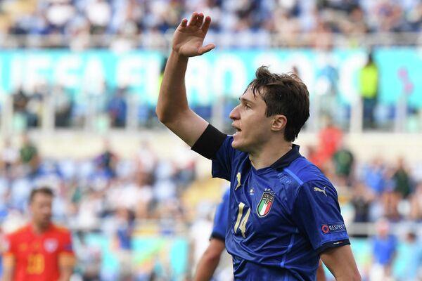 Нападающий сборной Италии Федерико Кьеза