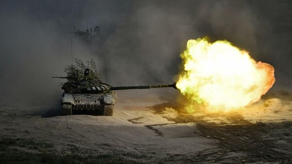 Танковое сожжение. Польская армия несет боевые потери без боя
