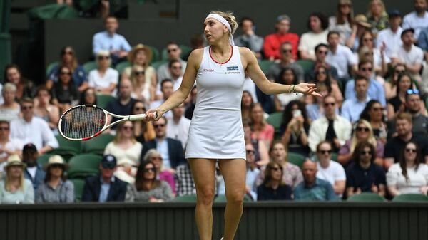 Теннисистка Елена Веснина (Россия)