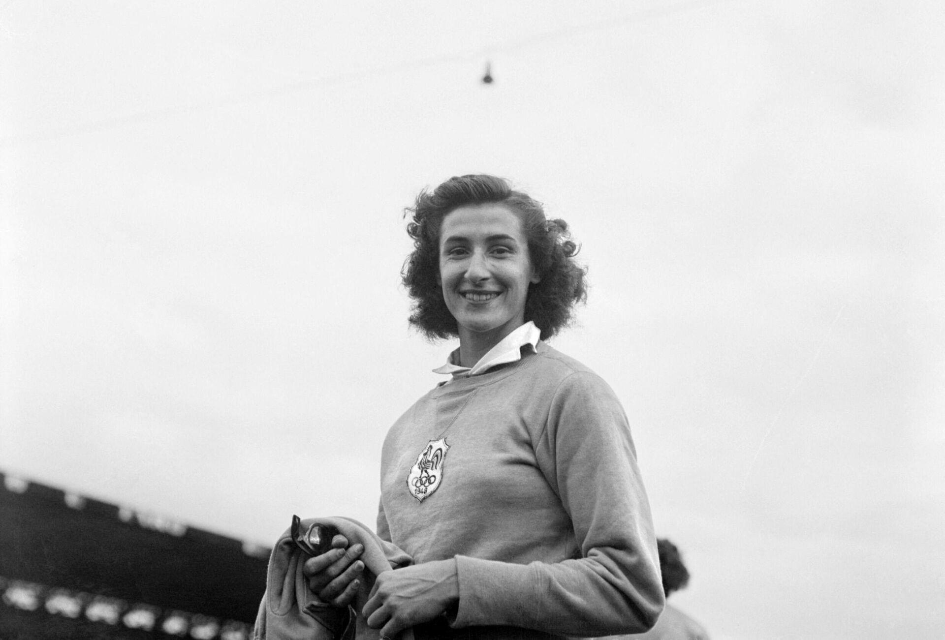 Чемпионка Олимпийских игр 1948 года Мишель Остермайер - РИА Новости, 1920, 03.07.2021