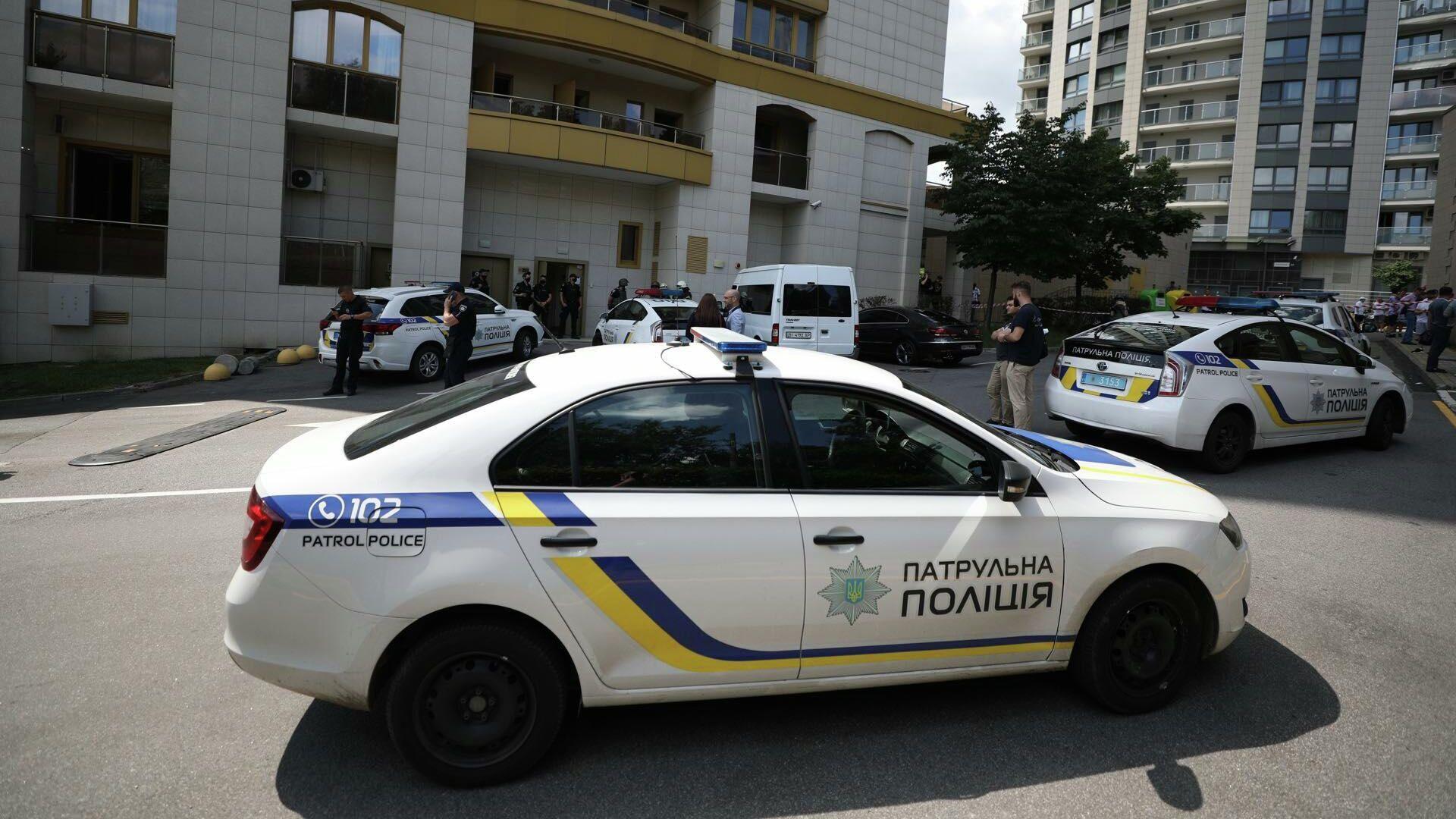 Сотрудники полиции Украины в Киеве - РИА Новости, 1920, 03.08.2021
