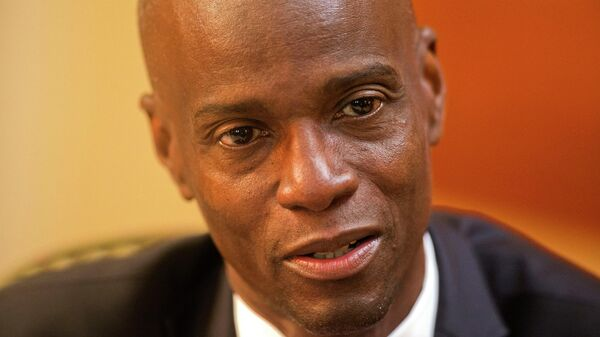 Президент Гаити Жовенель Моиз