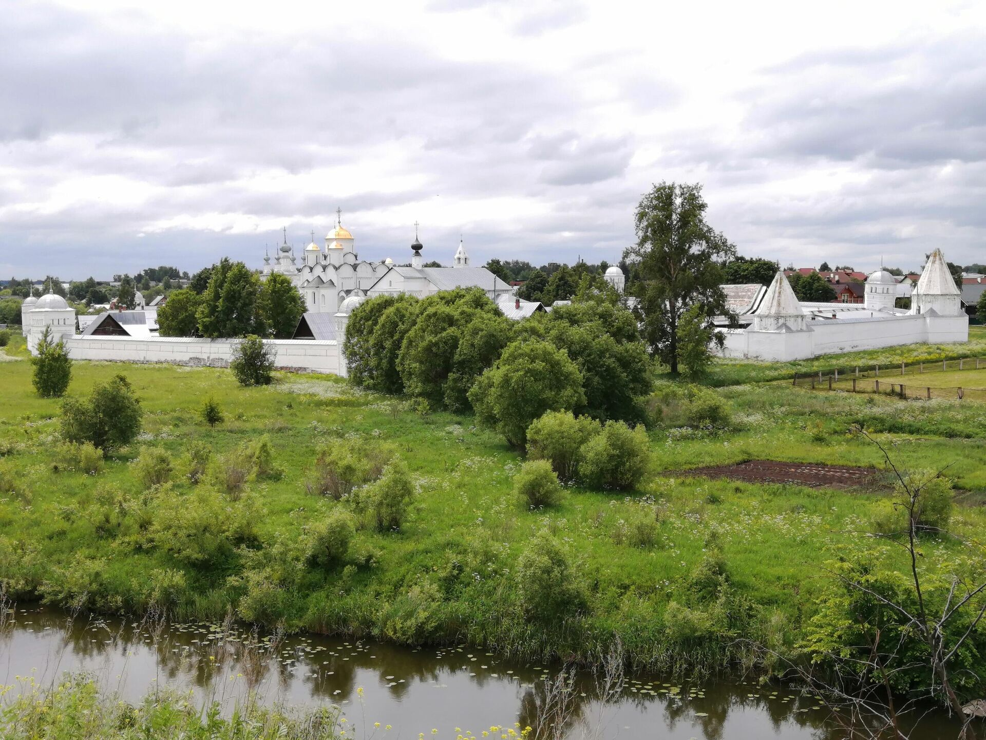 Суздаль. Вид на Покровский монастырь - РИА Новости, 1920, 08.07.2021