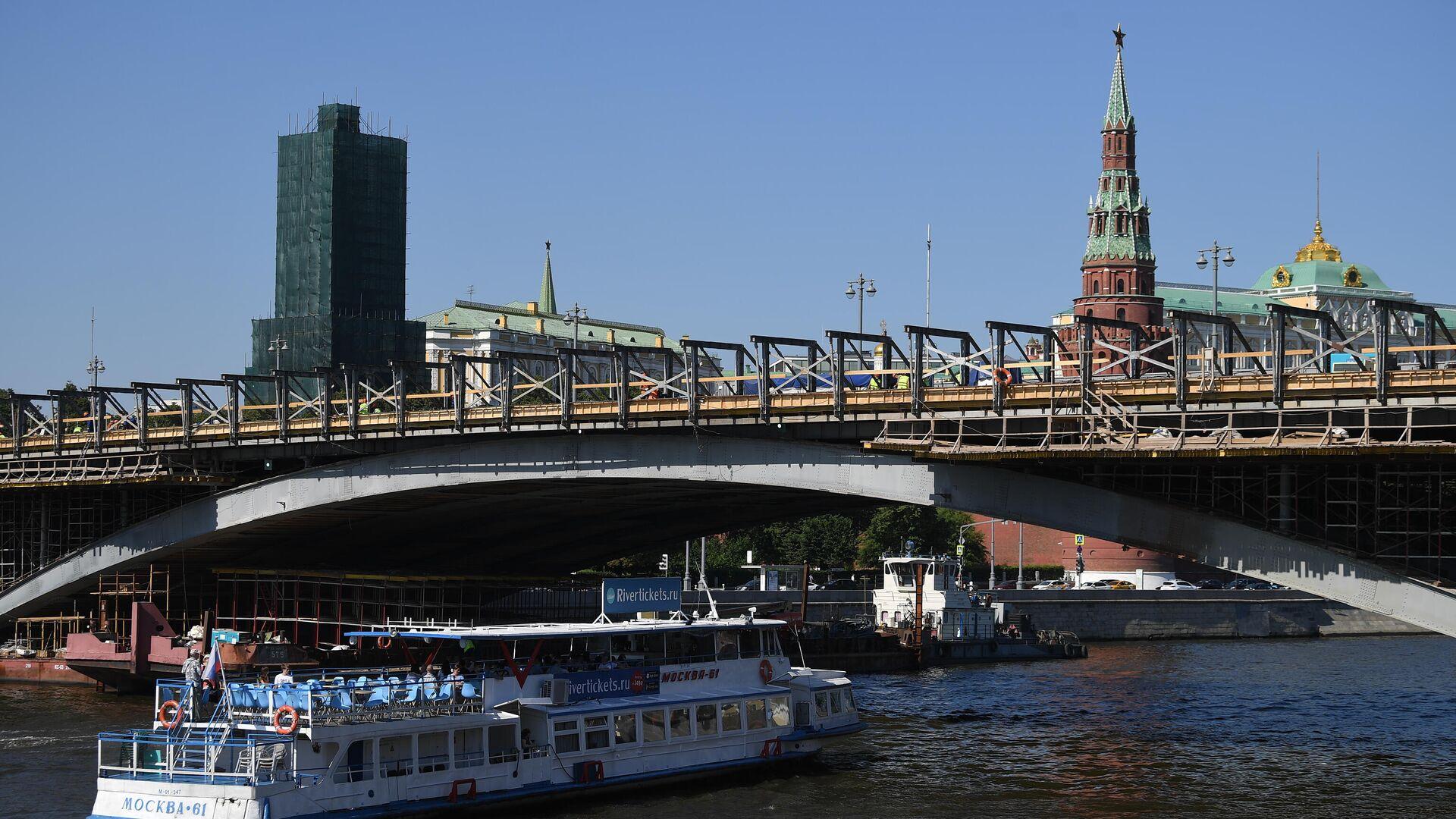 Комплексная реставрация Большого Каменного моста - РИА Новости, 1920, 12.07.2021