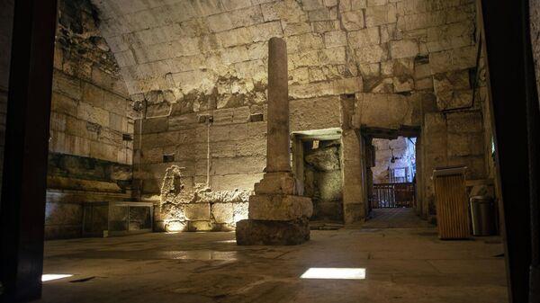 2000-летнее здание, найденное в результате археологических раскопок в Иерусалиме