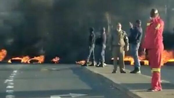 Массовые протесты сторонников экс-президента в ЮАР