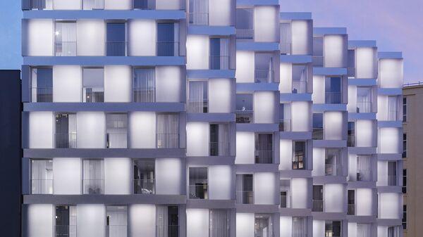 Проект комплекса апартаментов на Славянской площади