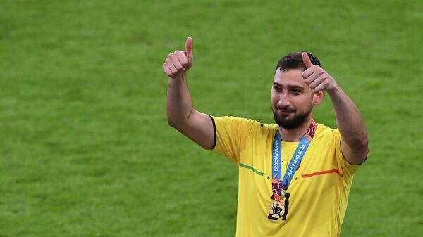 Вратарь сборной Италии по футболу Джанлуиджи Доннарумма