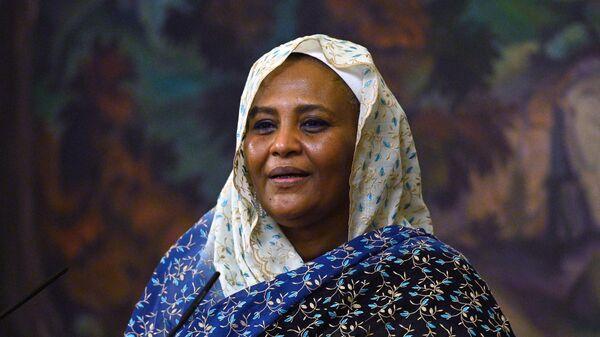 Министр иностранных дел Судана Марьям Аль-Махди