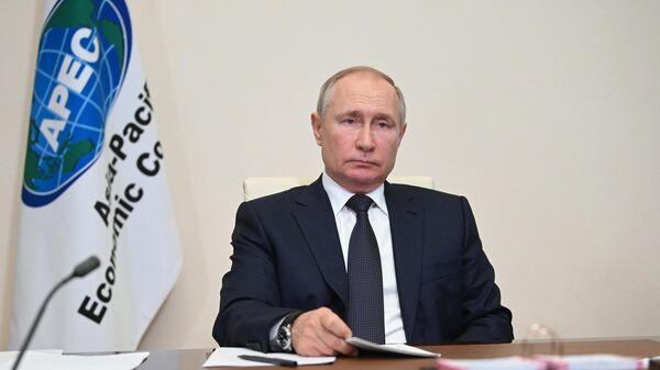 Президент РФ Владимир Путин участвует в неформальной встрече лидеров экономик форума АТЭС