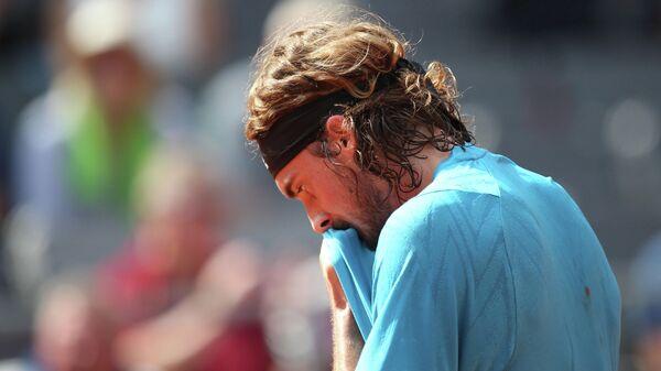 Теннисист Стефанос Циципас (Греция)