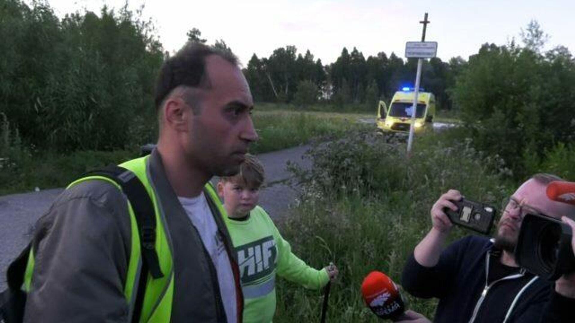 Все живы, здоровы – самое главное – пилот самолета Ан-28 рассказал о подробностях аварии - РИА Новости, 1920, 16.07.2021