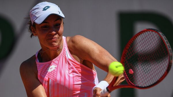 Теннисистка Ангелина Калинина (Украина)