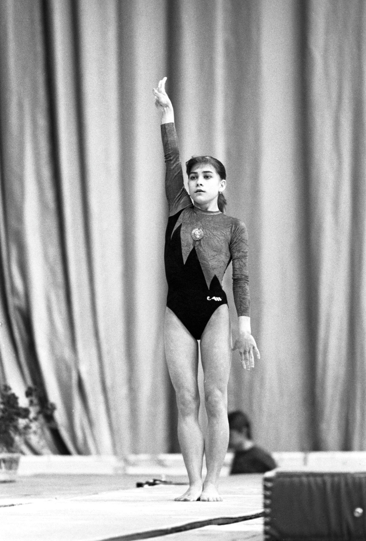 Гимнастка Оксана Чусовитина в 1992 году - РИА Новости, 1920, 21.07.2021