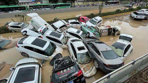 Последствия наводнения в Чжэнчжоу, Китай