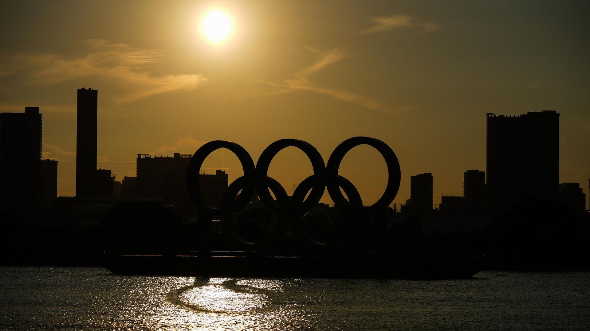 Символика Олимпийских игр в Токио - РИА Новости, 1920, 03.08.2021