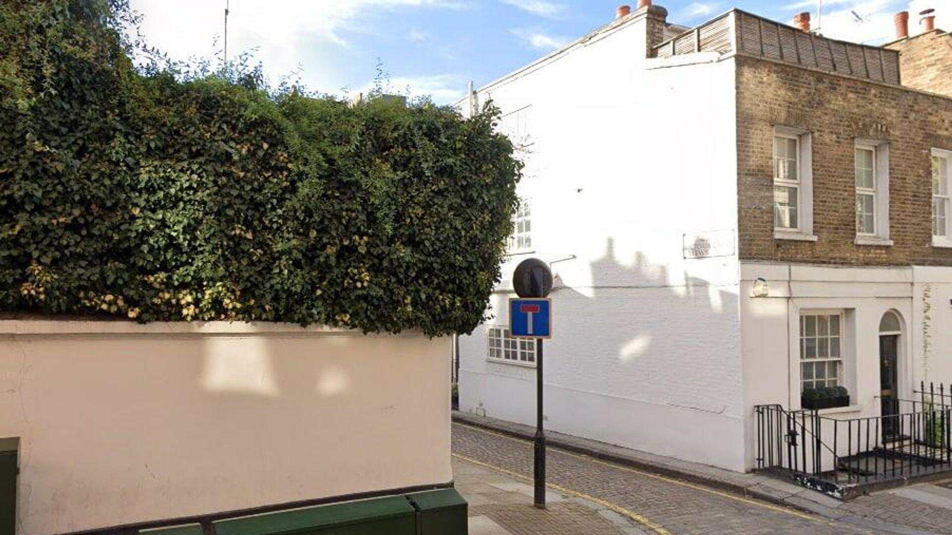 Переулок у российского посольства в Лондоне  - РИА Новости, 1920, 22.07.2021