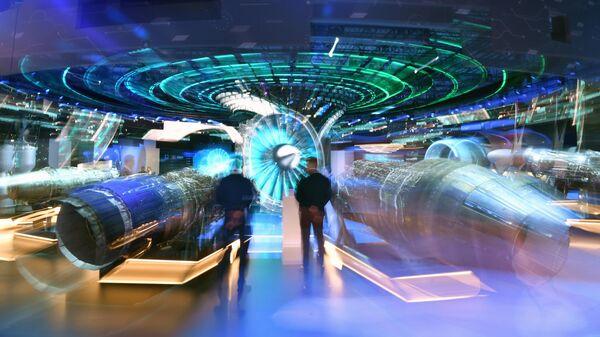 Стенд АО Объединённая двигателестроительная корпорация на выставке МАКС-2021