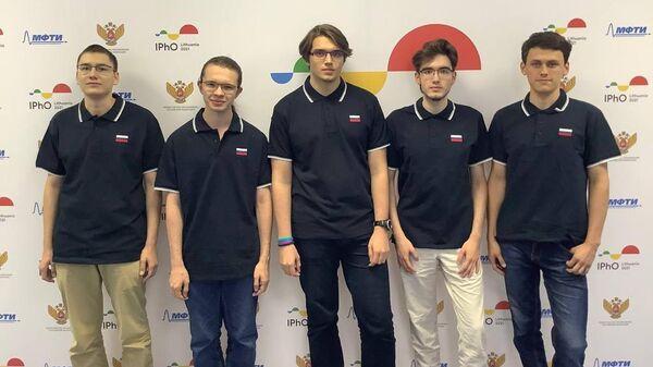 Российская сборная завоевала золотые медали на 51-й Международной олимпиаде по физике (IPhO 2021)