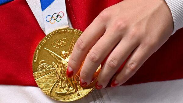 Золотая медаль Виталины Бацарашкиной