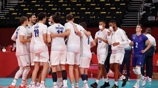 Волейболисты сборной Франции