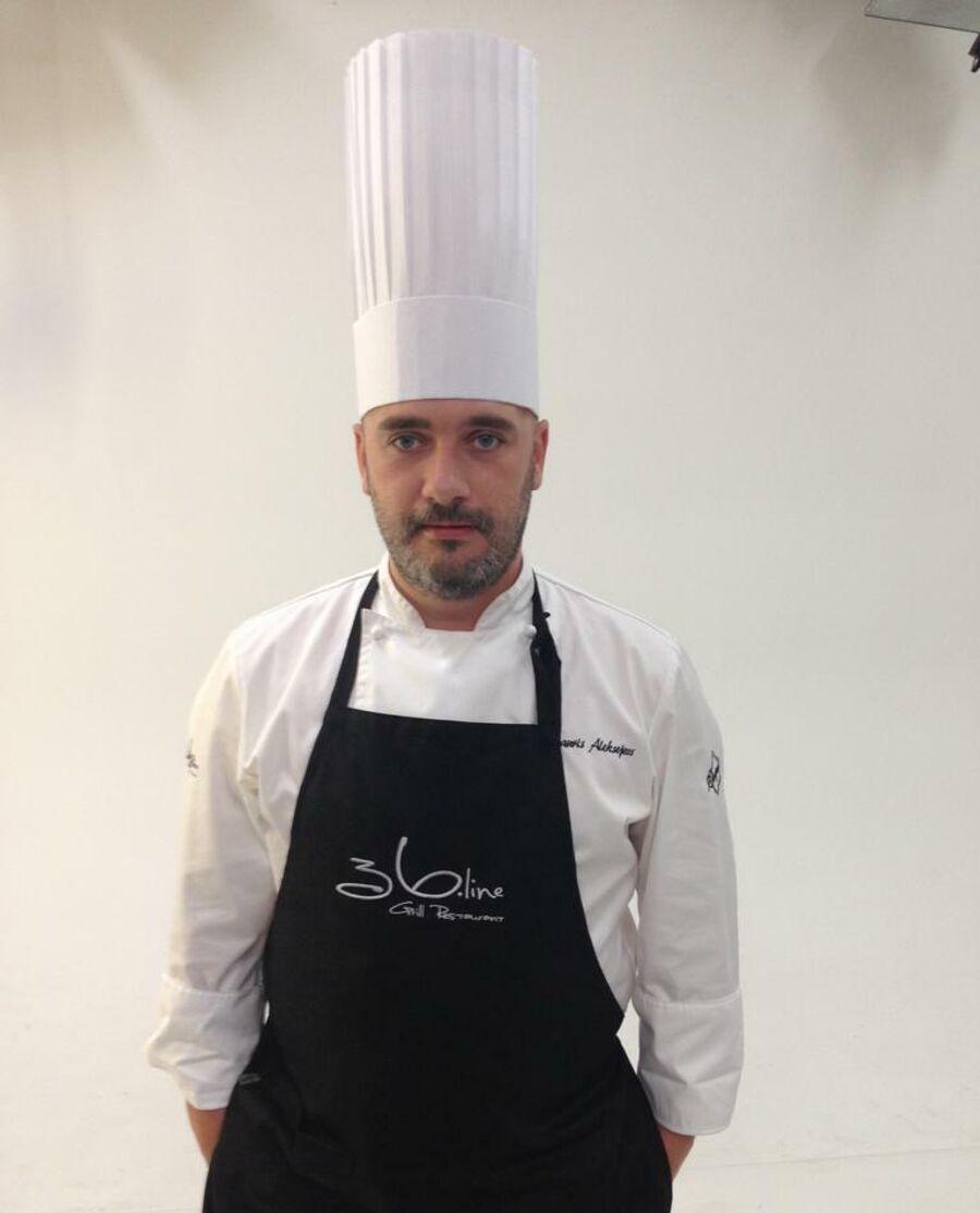 Шеф-повара ресторана 36.Line Лаурис Алексеев