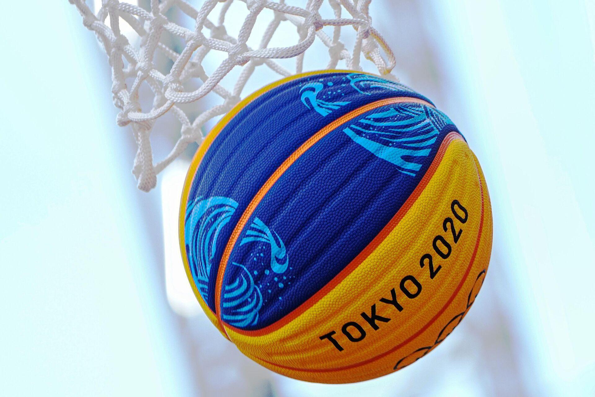 Баскетбольный мяч - РИА Новости, 1920, 28.07.2021