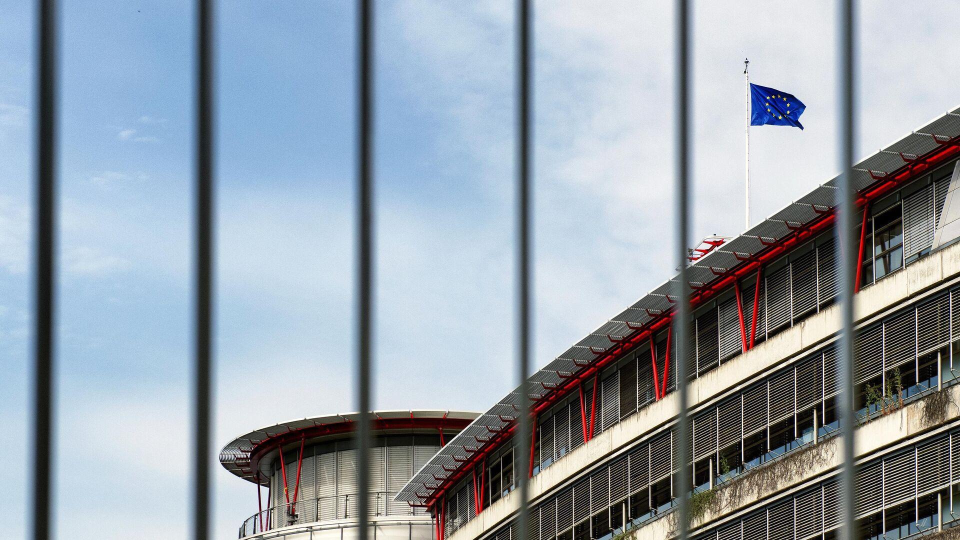 Здание Европейского суда по правам человека (ЕСПЧ) в Страсбурге - РИА Новости, 1920, 28.07.2021