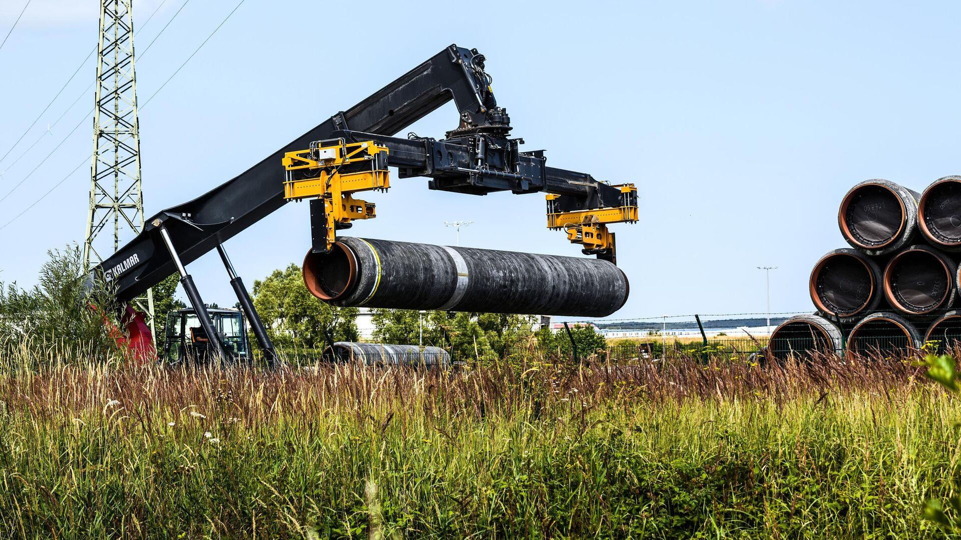 Песков: российский газ будет интересовать Германию и после ухода Меркель