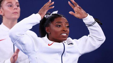 Американская гимнастка Симона Байлз
