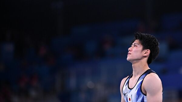 Японский гимнаст Дайки Хасимото